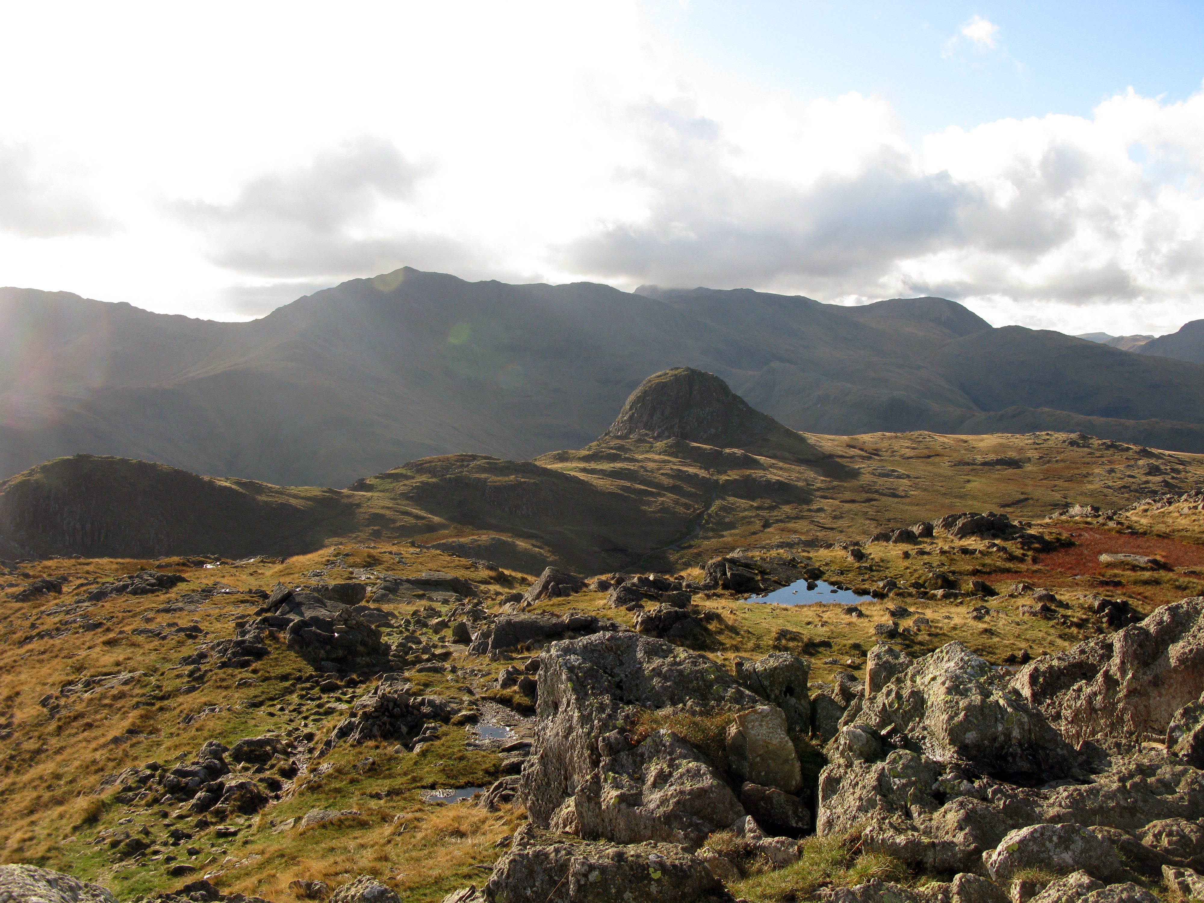 Pike o' Stickle from Harrison Stickle Photo: Bill Tyne