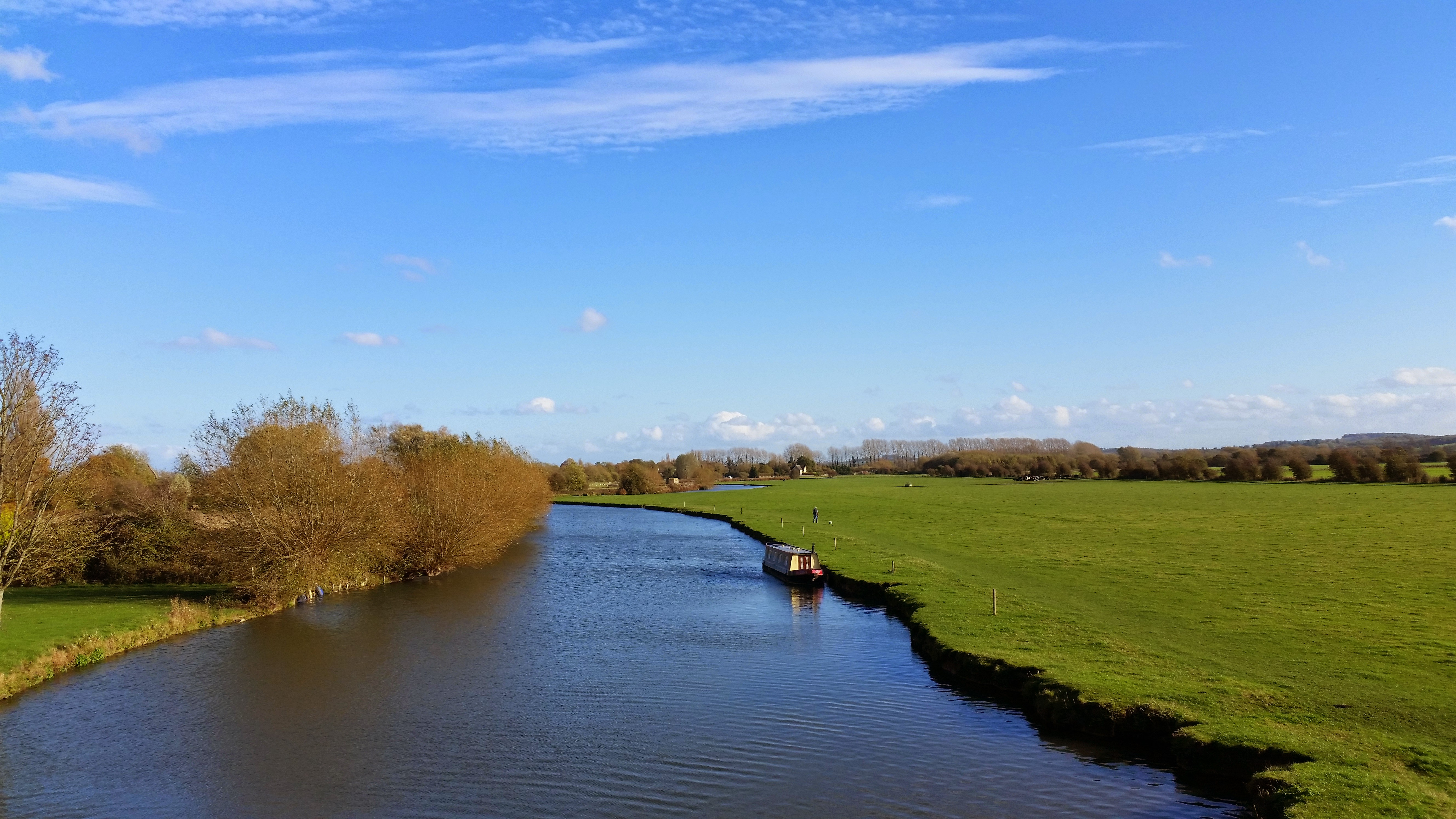 The river Thames at Lechlade