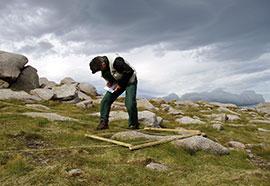 Field work © Environmental Change Network