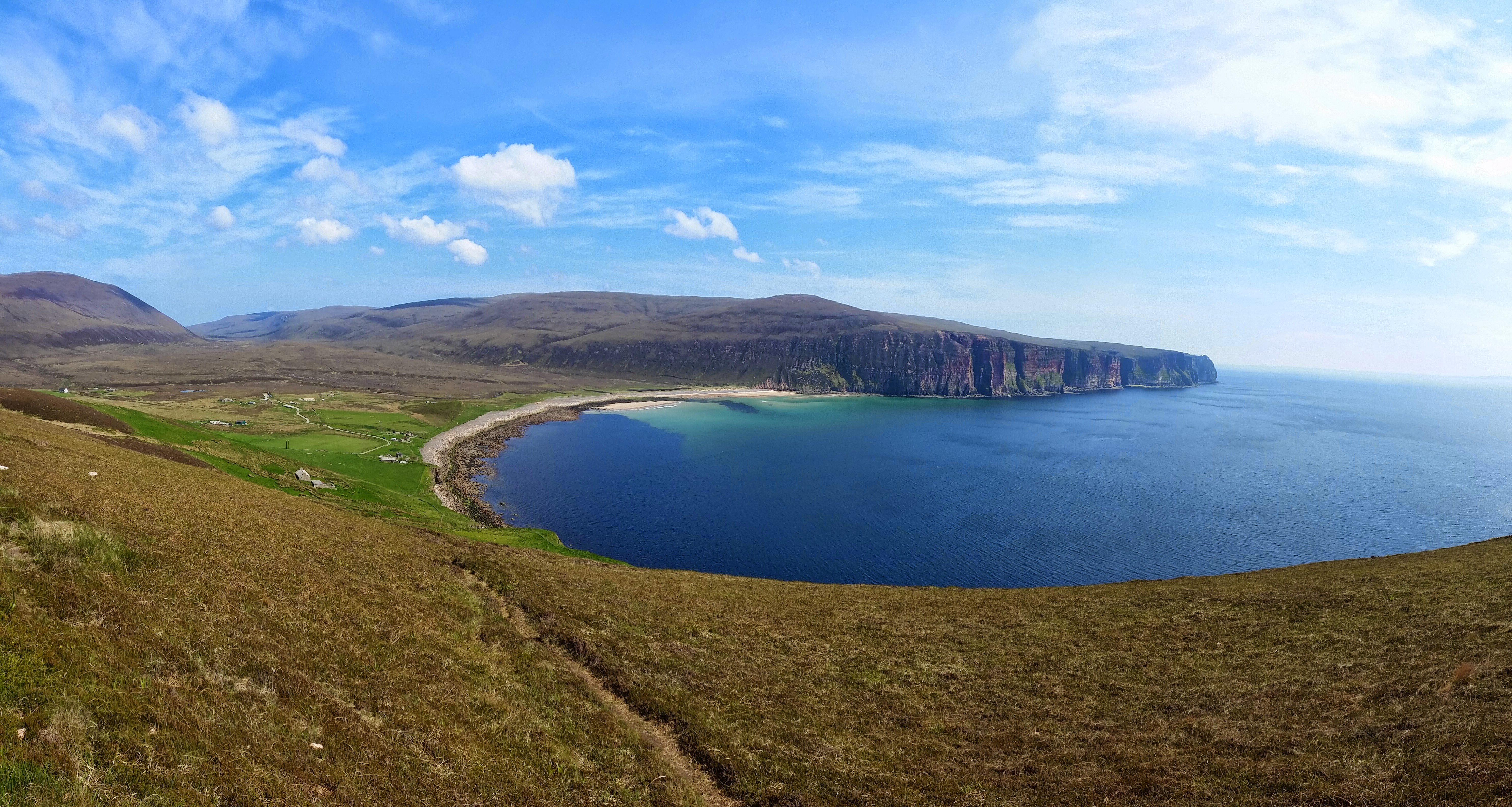 View of Rackwick Bay, Hoy, Orkney. Photo: Dr Steven White