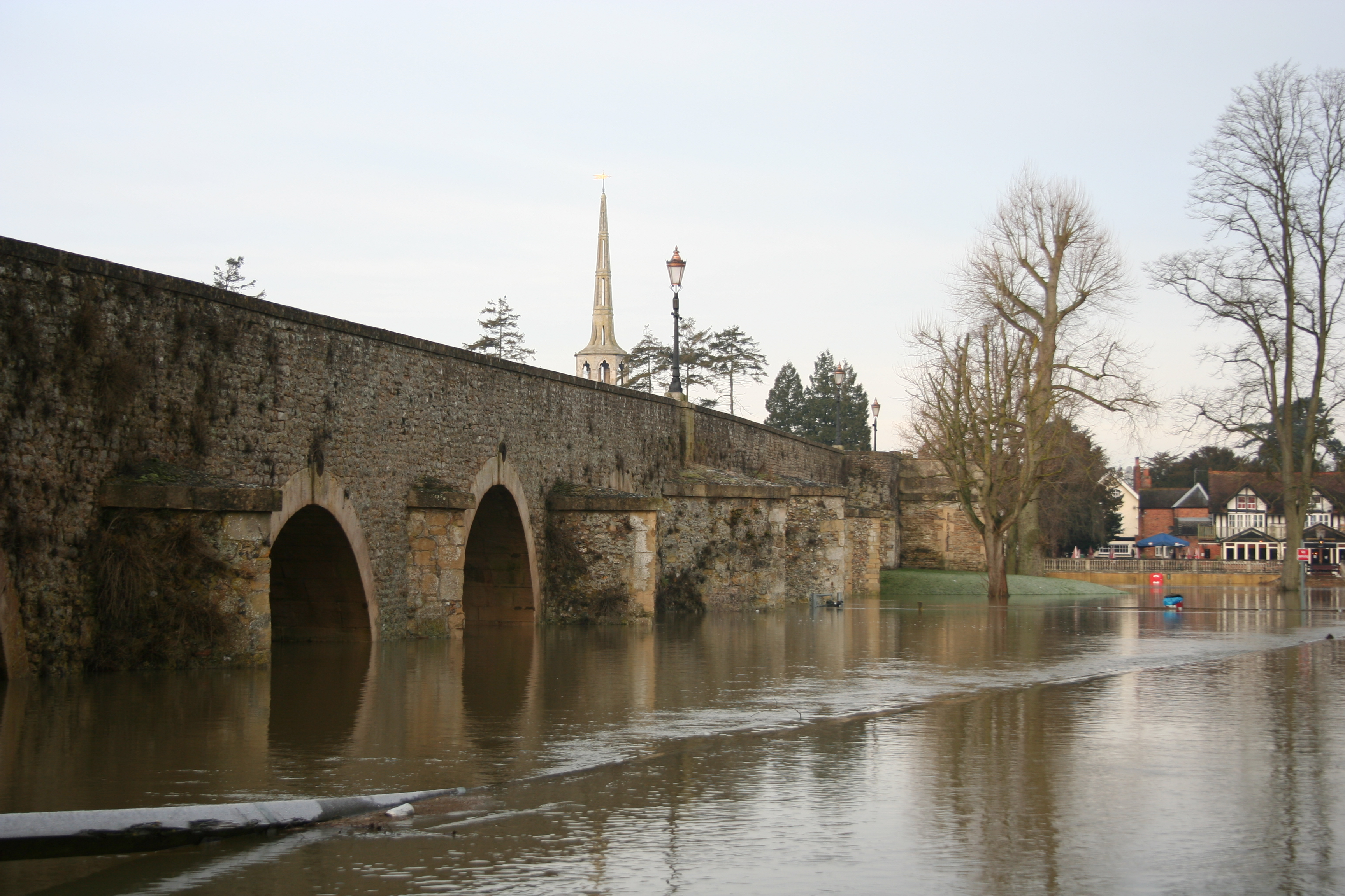 Flooding at Wallingford - image by Harry Dixon
