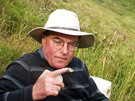 Prof Jeremy Thomas founding a new colony in 2008 © J A Thomas and D J Simcox