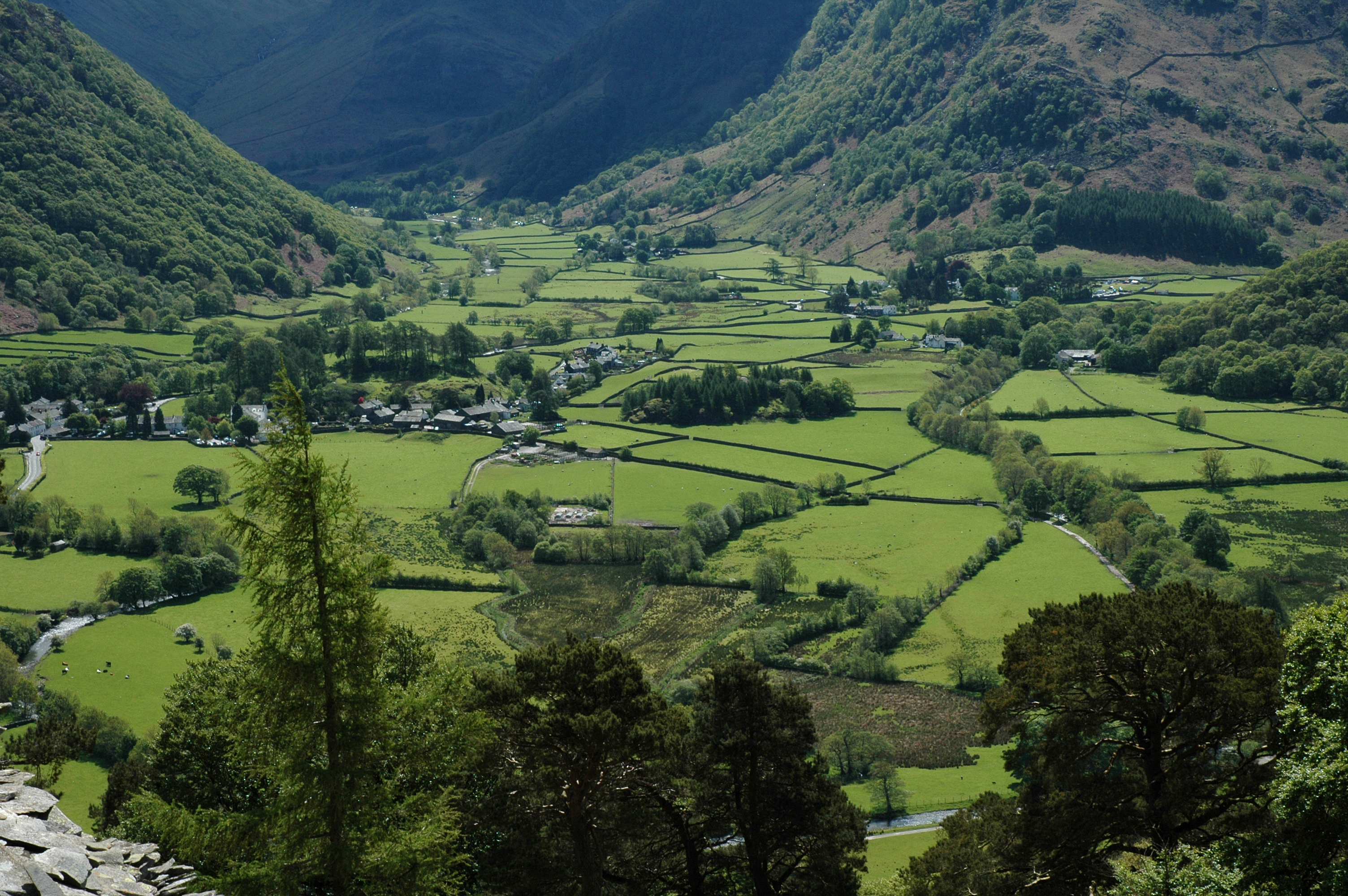 Borrowdale, Lake District. Photo by Andy Sier