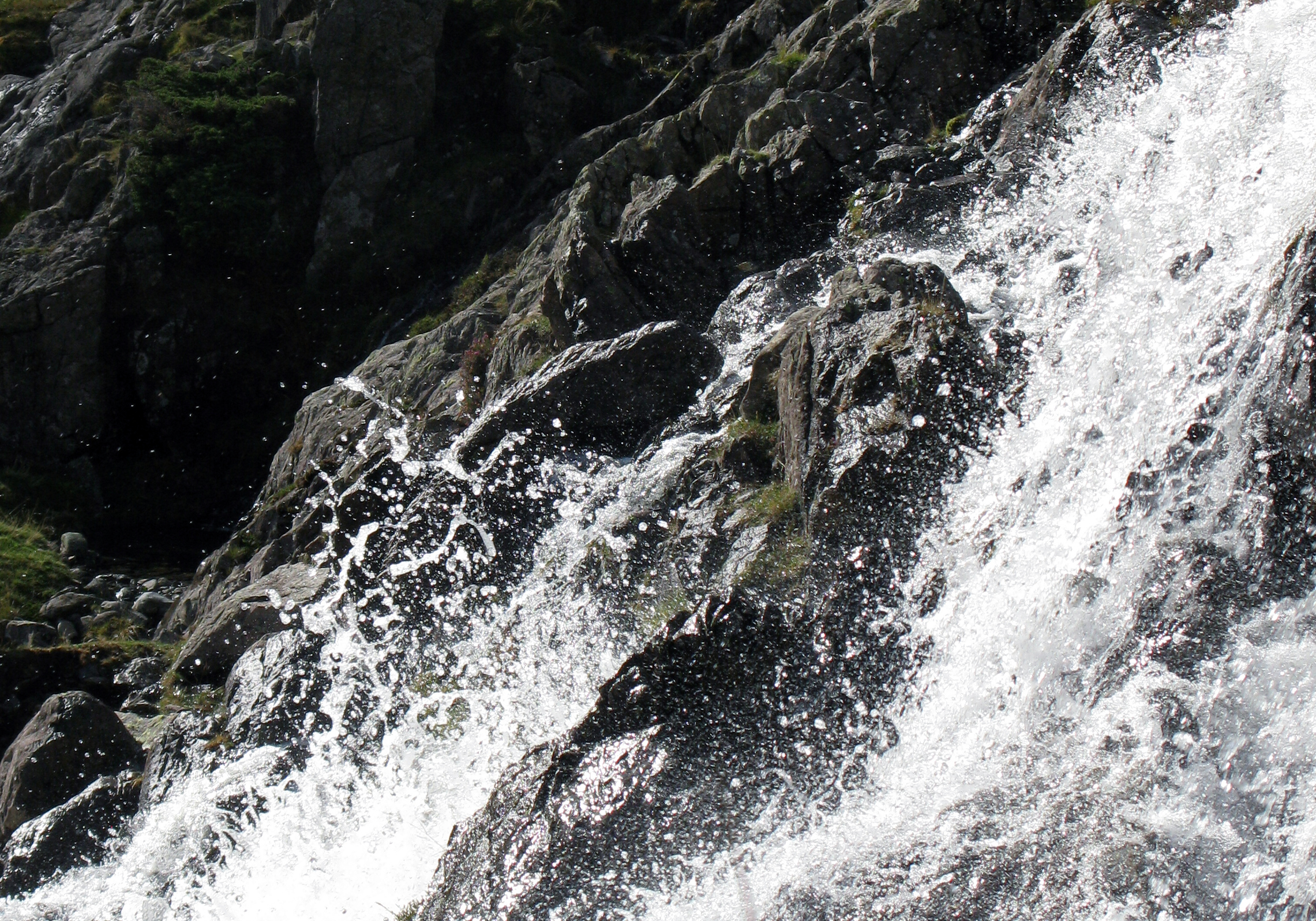 Stickle Ghyll in spate Photo: Bill Tyne