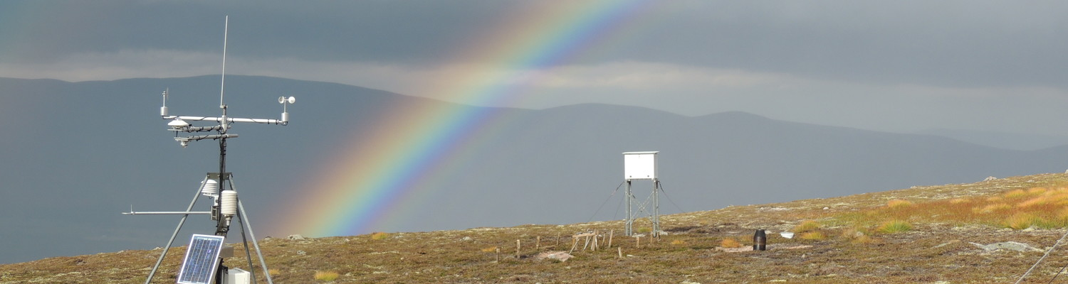 Automatic Weather Station at ECN Cairngorms, Scotland