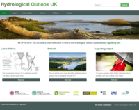 Hydrological outlook website