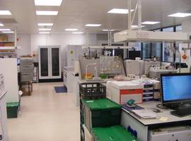General view of CEH Bangor Analytical Laboratory